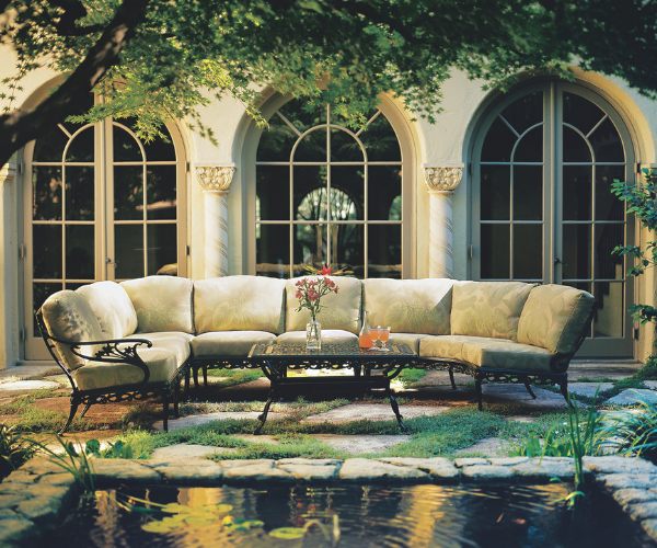 Day Lily outdoor furniture collection by Brown Jordan