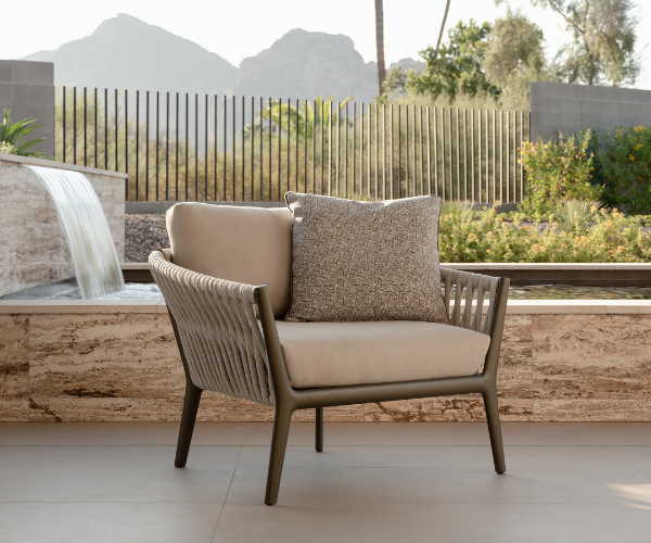 H Collection chair by Brown Jordan
